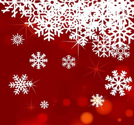champagne celebration: Lovely Christmas background illustration