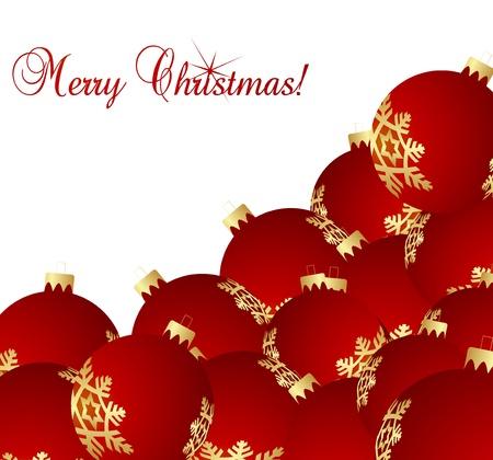 Lovely Christmas background illustration Vector
