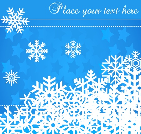 Lovely Christmas background illustration Stock Vector - 10371449