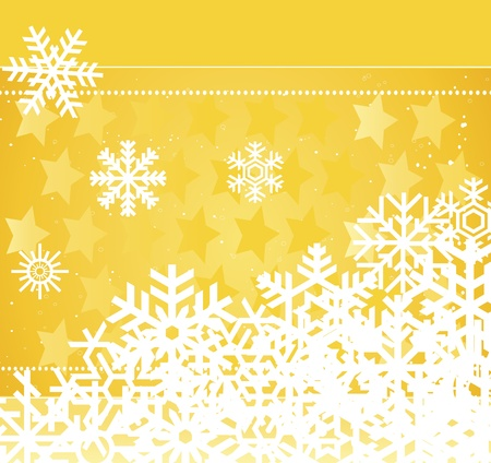 Lovely Christmas background illustration Stock Vector - 10371434