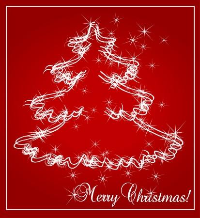 Christmas background illustration Stock Vector - 10371447