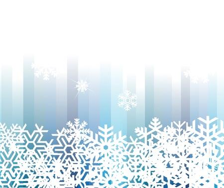 snow crystal: Christmas snowflake background illustration