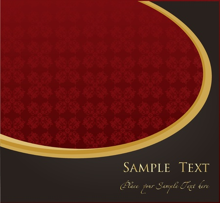 Vector Vintage background for book cover or card Stock Vector - 10362287