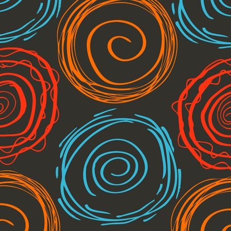Abstract spiral vector background Vector