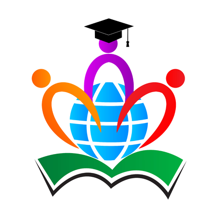 The purpose of the world education logos used for school college and university sign and symbol.