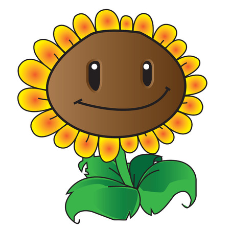 Sunflowers of the game Plants vs  Zombies Game Of The Year Edition