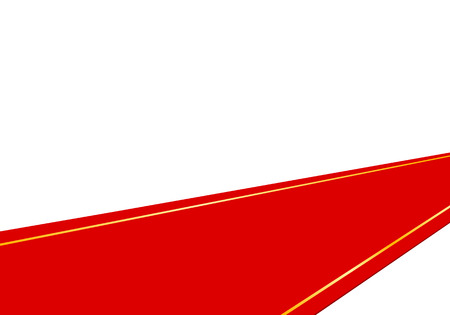 spread out the red carpet for important ceremonial events Vector