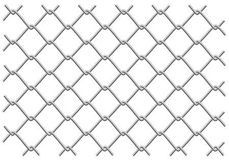 maglia metallica recinzione come sfondo o un oggetto tryde