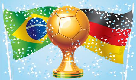 Fútbol 2014 Alemania vs Brasil ¿Quién ganará Competiciones