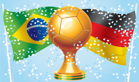 panama flag: Football 2014 Germany vs Brazil  Who will win  Competitions