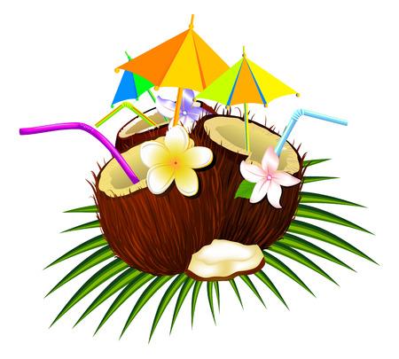 Cocktail coconut.