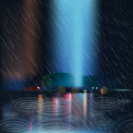 Heavy Rain Vector