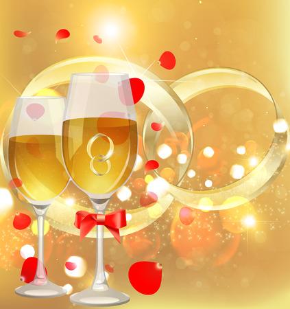 propuesta de matrimonio: Anillo en el vaso. Propuesta de matrimonio. Boda de vacaciones. Anillo de bodas en champ�n.