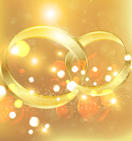 Background for wedding. Holiday wedding. Wedding rings. Wedding ring. Vector