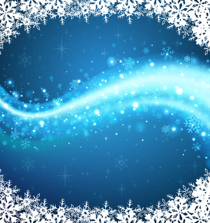 Background of winter. Abstract winter background. The background for winter holidays. Festive background. Vector
