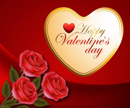 Valentines day. Valentines. Congratulations on Valentines Day. Postcard to the Valentines Day. Vector