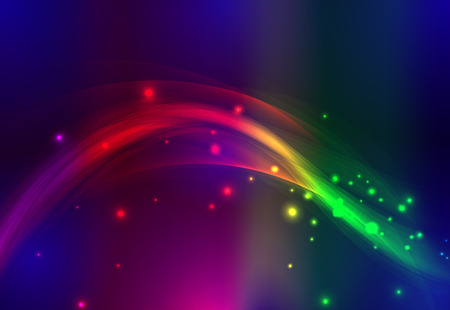 Abstract lines. Neon line. Colored lines. Colorful lines. Vector