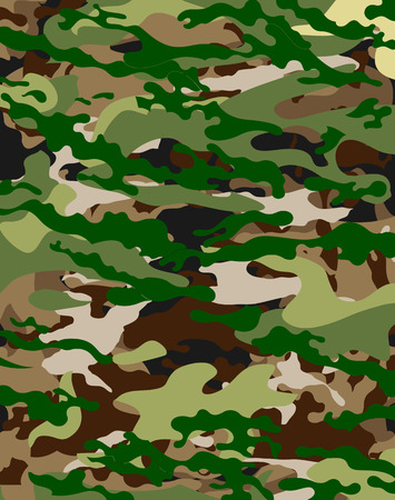 digi: Background with military camouflage texture vector art illustration.