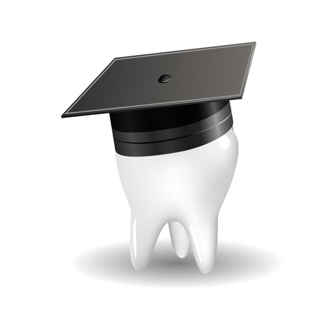 producing: The concept of producing doctors dentists, vector art illustration. Illustration