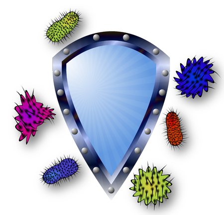 antiviral: The antibacterial and antiviral concept