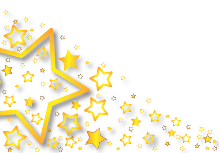 festive background: Background with stars, vector art illustration festive background.