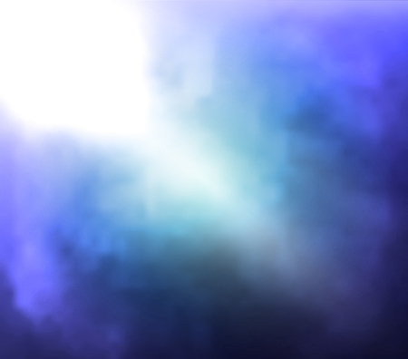 retro styled imagery: Misty gloomy blurred background, vector art illustration. Illustration