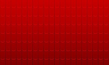 Texture of a shingles, vector art illustration.