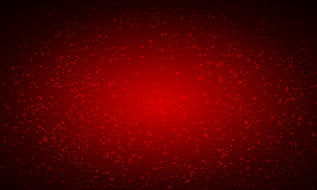 Red gilding on a red background, vector art illustration of eating.