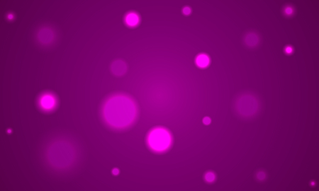 Purple background with blurry bokeh, vector art illustration.