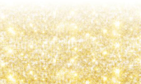 Gold-plated sparkling background, vector art illustration.