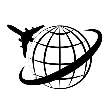 Logo of the planet Ilustração