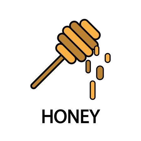 Spoon for honey Ilustração