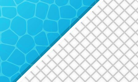 Pool tile and water Ilustração