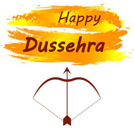 Elegant hindu banner of Dussehra festival, vector art illustration. Vetores