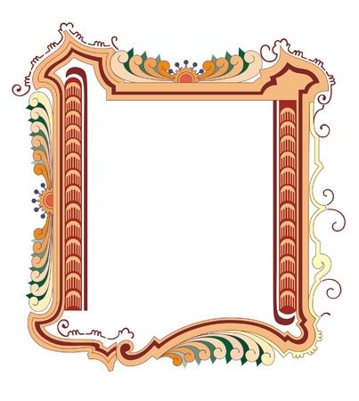 classical style frame Stock Vector - 13984622