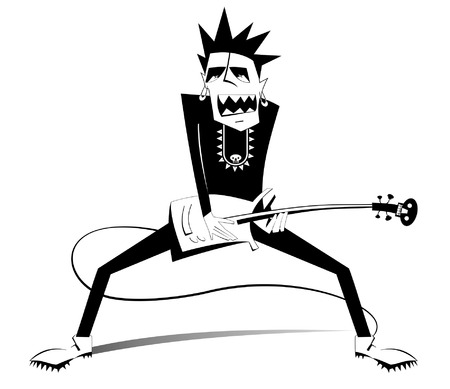 8244 Guitar Player Stock Illustrations Cliparts And Royalty Free