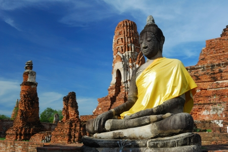 Mahatad temple Ayuttaya Thailand photo