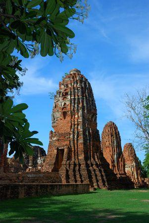 Mahatad temple Ayuttaya Thailand photo