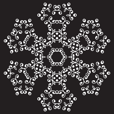 used ornament: Universal different vintage eastern patterns (tiling). Endless texture can be used for wallpaper, pattern fills, web page background,surface textures. Retro monochrome geometric ornament. Illustration