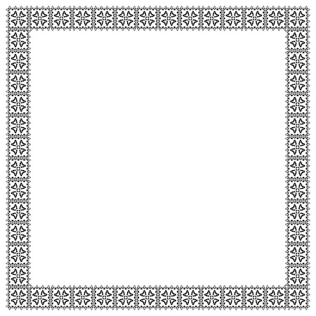 boarders: Decorative vintage frame. Border pattern