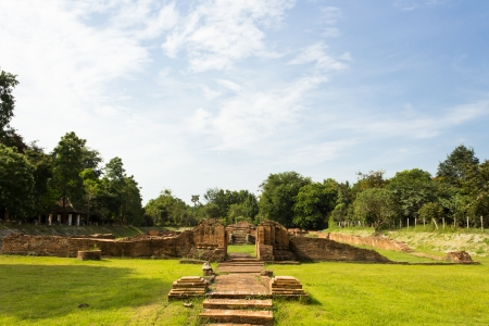 costruction: Ancient Ruins at Wiang Kum Kam in Chiangmai Thailand