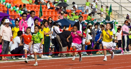 Running Competition on Primary School