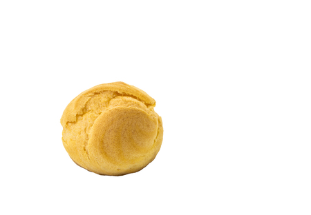 choux: Choux isolated on white background and clipping path