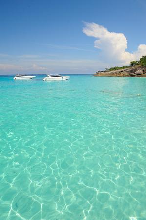 similan: beautiful sea Similan National Park Thailand