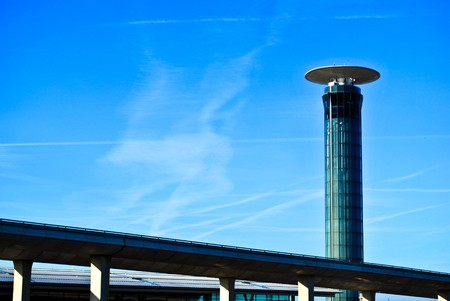 Tower - Charles de Gaulle Airport - Paris France Stock Photo - 7126969