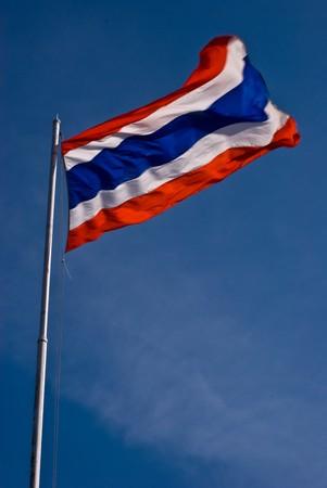 The flag of Thailand photo