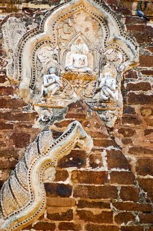 Thai old stucco photo