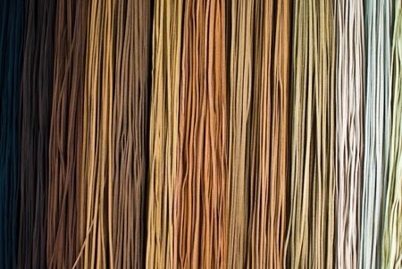 Leather ropes photo
