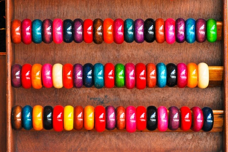 Colourful bracelets photo