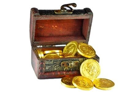 A box of Golden Coins